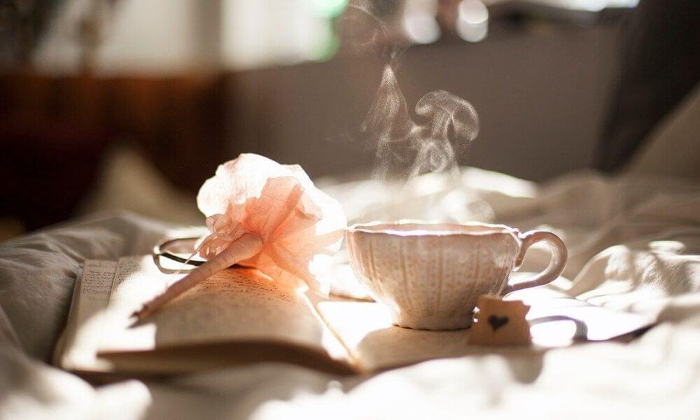 Keine Zeit fuer Auszeiten Endlich mehr Ruhe und Erholung in Deinem Alltag Buch mit Teetasse