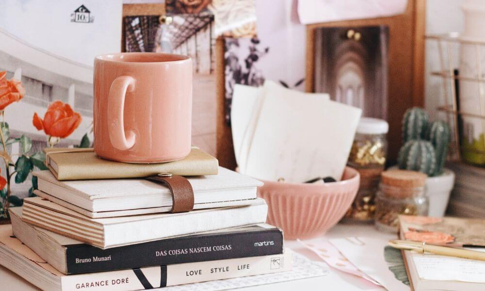 Kleine Auszeiten für deinen Alltag - Bücher Kaffeetasse